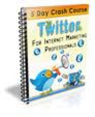 Product picture Twitter Marketing Power-Make Money Off Twitter