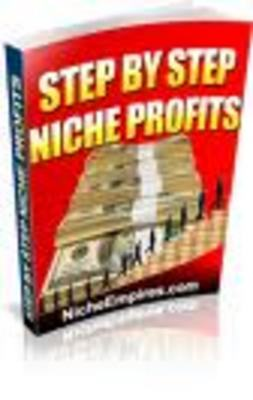 Product picture STEP BY STEP NICHE PROFITS- niche market