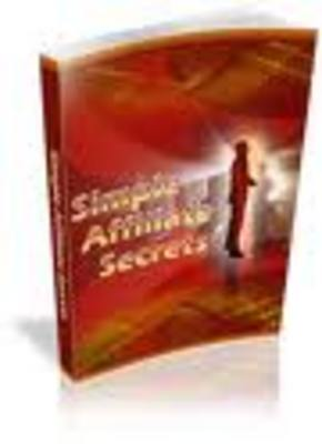 Product picture simple affiliate secreats-affiliate marketing